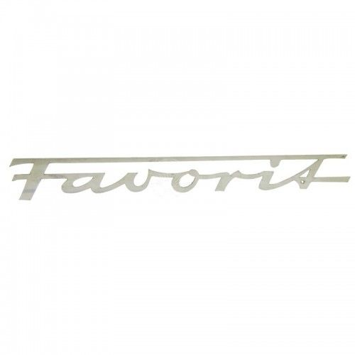 Emblème Favorit pour modèles à capot arrondi - Fendt - Favorit 1, 2, 3 Fendt - 1