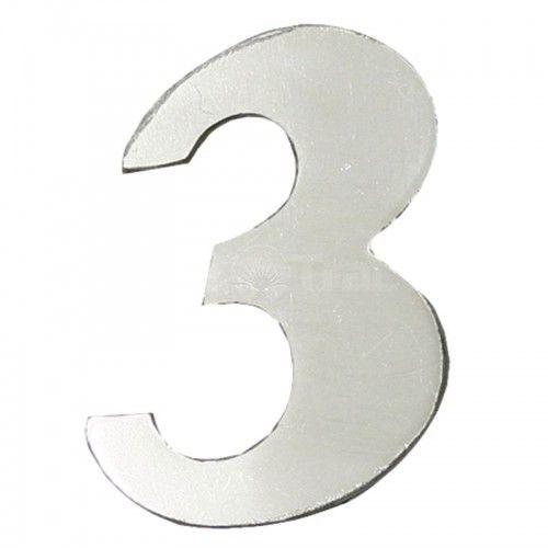 Emblème chiffre 3 - Fendt - Farmer 3, Favorit 3 Fendt - 1