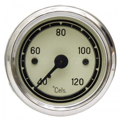 Indicateur de température mécanique - moteurs refroidis par eau Ø60mm, câble 1800 mm - Fendt - Ancien Fendt - 1