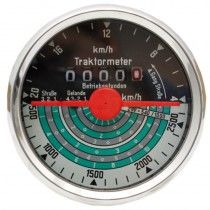 Tractomètre sens de rotation gauche, 20 km/h - Fendt - FW 139 Fendt - 1