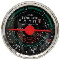 Tractomètre sens de rotation gauche, 20 km/h - Fendt - FW 228 Fendt - 1