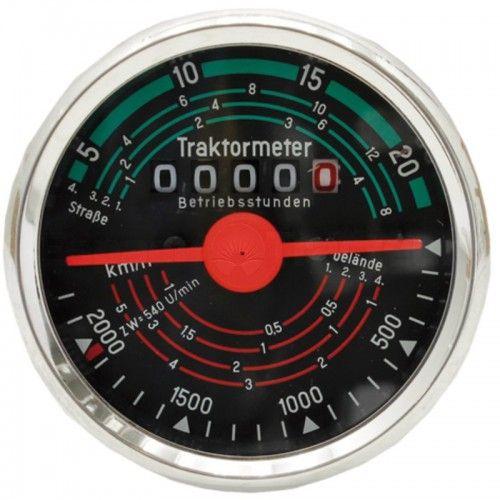 Tractomètre sens de rotation droite, 20 km/h - Fendt - F 230GT, F 231GT Fendt - 1