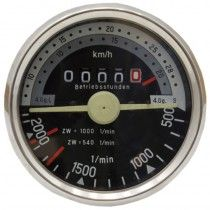 Tractomètre sens de rotation droite, 28 km/h - Fendt - F 231 GT Fendt - 1