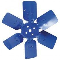 Hélice de ventilateur 6 pales en acier - Fordson et Ford - Dexta, Super Dexta, 2000, 2600, 3000, 3600, 4000, 4600, 5000, 5600 Fo