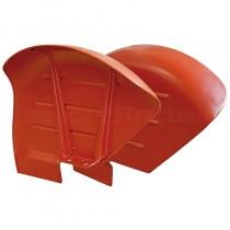 Jeu de garde-boues coquilles - Fordson et Ford - Dexta, Super Dexta, 2000, 2600, 3000, 3600 Fordson et Ford - 1