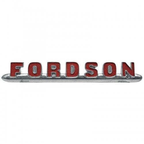 Emblème FORDSON en rouge - Fordson et Ford - Dexta, Super Dexta Fordson et Ford - 1