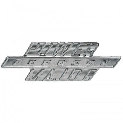 "Emblème latéral ""POWER FORDSON MAJOR"" - Fordson et Ford - Power Major Fordson et Ford - 1"