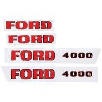 Jeu d'autocollants - Fordson et Ford - 4000 Fordson et Ford - 1