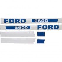 Jeu d'autocollants - Fordson et Ford - 2600 Fordson et Ford - 1