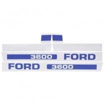 Jeu d'autocollants - Fordson et Ford - 3600 Fordson et Ford - 1