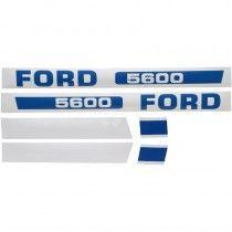Jeu d'autocollants - Fordson et Ford - 5600 Fordson et Ford - 1
