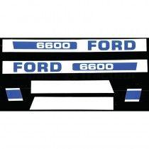 Jeu d'autocollants - Fordson et Ford - 6600 Fordson et Ford - 1