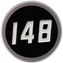 Emblème 148 - partie latérale - Massey Ferguson - MF 148 Massey ferguson - 1