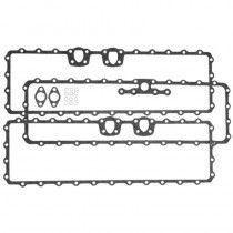 Kit de joints - couvercle latéral gauche - Mercedes-Benz - U 406, U 416, U 417, U 424, U 425, U 435, Trac 1000, 1100, 1300, 1500