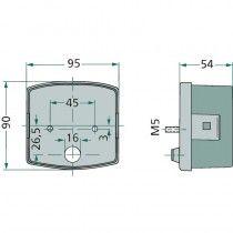Feu gauche arrière stop, clignotant et éclaire-plaque - Deutz série 06 Deutz - 1