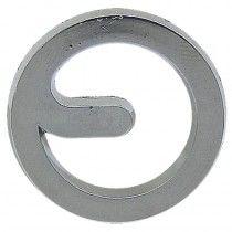 Emblème Hydrostop - en chrome - Porsche Diesel - Divers Porche Diesel - 1