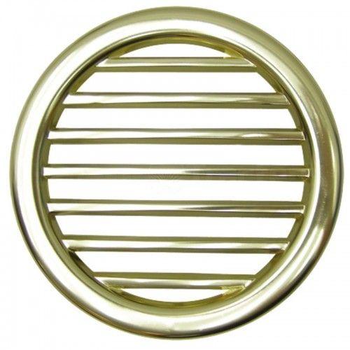 Grille d'aération dorée et ronde - Deutz série D et D05 Deutz - 1