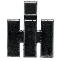 Emblème - McCormick et IHC - DLD 2, DED 3, DGD 4, Série D 200, 300 et 400 IH - International Harvester - 1