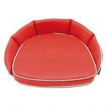 Coussin de siège rouge - dossier 12 cm - McCormick et IHC -DLD 2, DED 3, DGD 4, Série D 200, D 400, D 320, D 324, D326 IH - Inte
