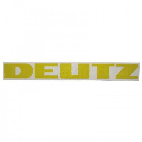 Autocollant DEUTZ 240 x 26 - Deutz FM414, FL514, FL612 Deutz - 1