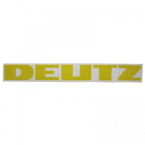 Autocollant DEUTZ 182 x 20 - Deutz FM414, FL514, FL612 Deutz - 1