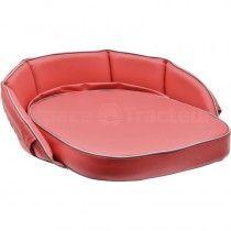 Coussin rouge, dossier 20 cm - McCormick et IHC -DLD 2, DED 3, DGD 4, Série D 200, D 400, D 320, D 324, D326 IH - International