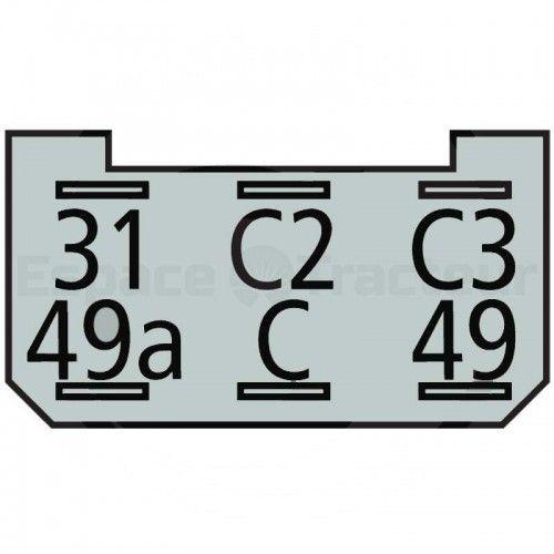 Centrale clignotante universelle 2+1+1, 21 W - Deutz série D05 Deutz - 1