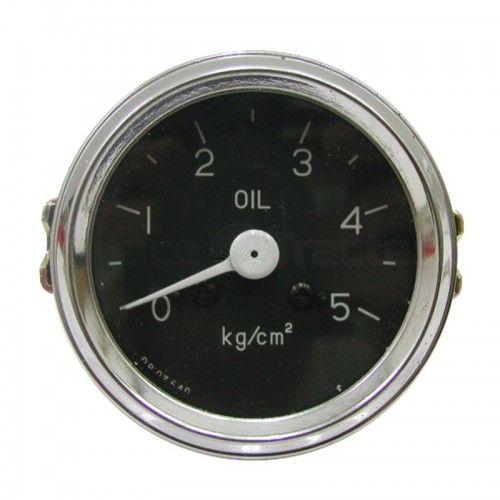 Manomètre pression d'huile mécanique 0-5bar Ø60 - Deutz FL514 et FL612 Deutz - 1