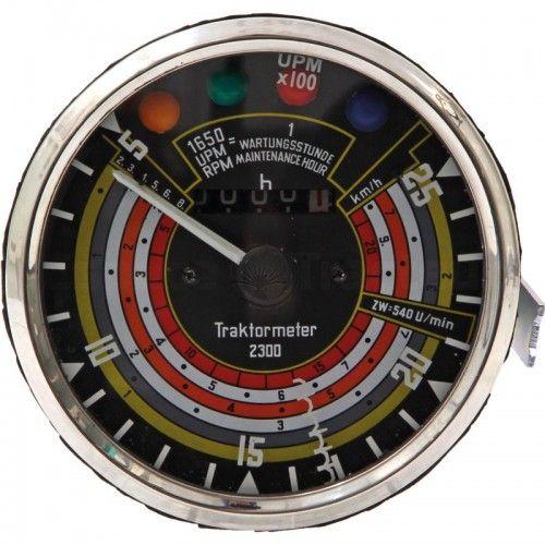 Tractomètre 20km/h, 2500tr/min, sens antihoraire Ø115 - Deutz D25, D30 Deutz - 1