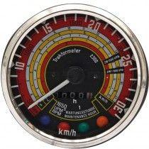 Tractomètre 30km/h, 2500tr/min, sens horaire Ø115 - Deutz D25, D30 Deutz - 1