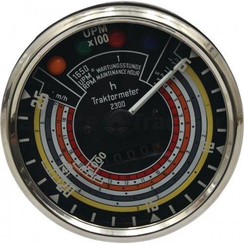 Tractomètre 25km/h, 2500tr/min, sens horaire Ø115 - Deutz D25, D30 Deutz - 1