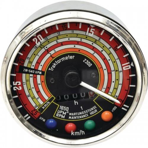 Tractomètre 27km/h, 2500tr/min, sens antihoraire Ø115 - Deutz D25, D30 Deutz - 1