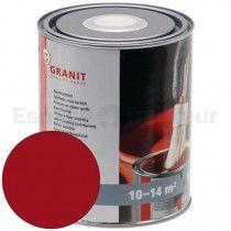 Peinture Alkyde 1L - AGM - RAL / teinte: Rouge Wilckens NoPolux - 1