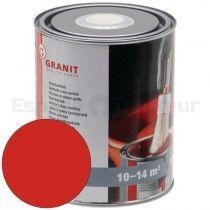 Peinture Alkyde 1L - Same - RAL / teinte: Rouge - A partir de 1978 Wilckens NoPolux - 1