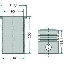 Kit cylindrée complet - Fendt moteur KD 110.5 Fendt - 2