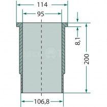 Chemise de cylindre - Fendt moteur D 208 Fendt - 2