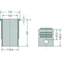 kit cylindrée complète - Fendt moteur KD 412 Fendt - 2