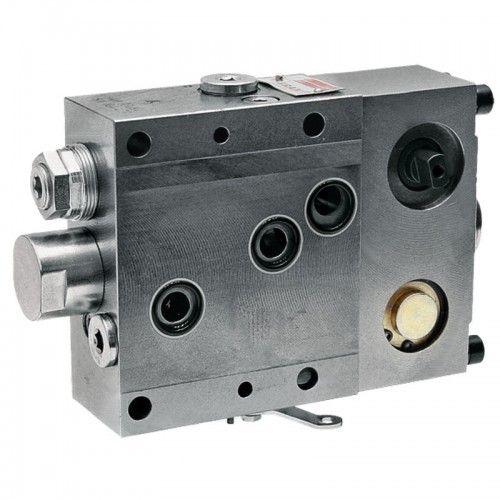 Distributeur de relevage - SB7 3 trous - 220 bar - M18x1,5mm - 21x5x13cm  - 1