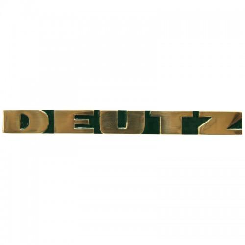 Emblème DEUTZ latéral - Deutz série D et D05